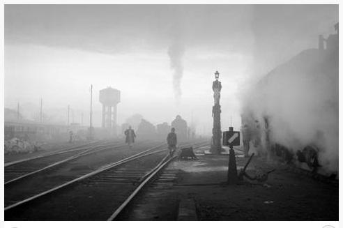 Πρωινό στο σταθμό 1954
