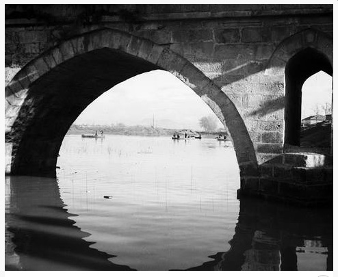 Καμάρα της γέφυρας του Πηνειού 1940