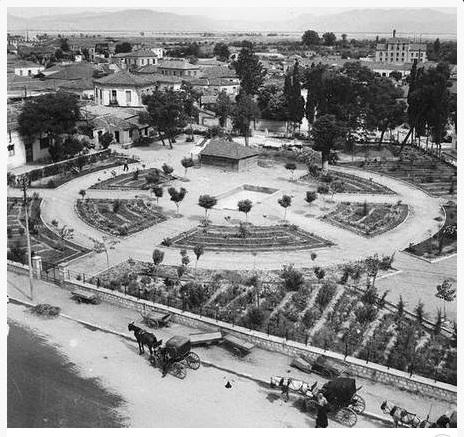 Ο κήπος των ανακτόρων 1950