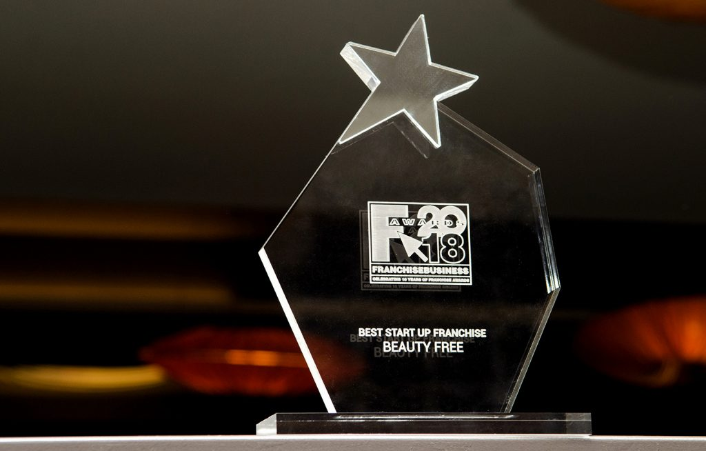 Best Start Up Franchise βραβείο για τα BEAUTY FREE στα Franchise Awards 2018 4 1024x654 - Πρωτιά για το BEAUTY FREE στα Franchise Awards 2018