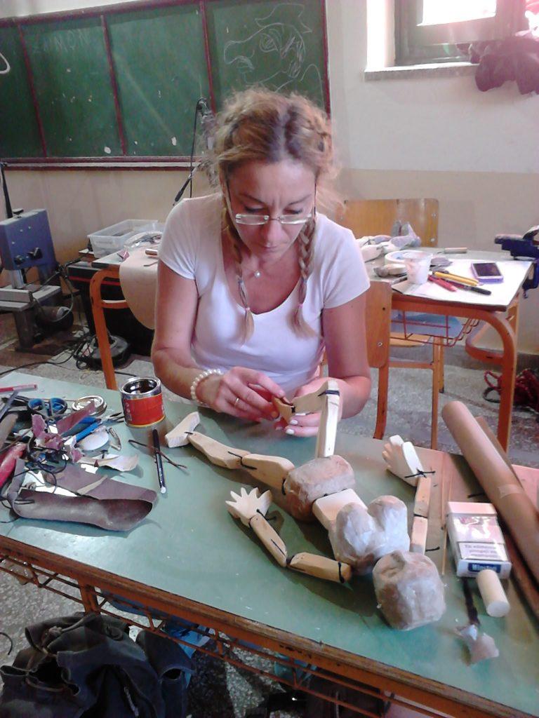 DSC 0092 Αντιγραφή 768x1024 - «Κούκλα εν τάξη» Σεμινάριο κατασκευής κούκλας  για παιδαγωγούς
