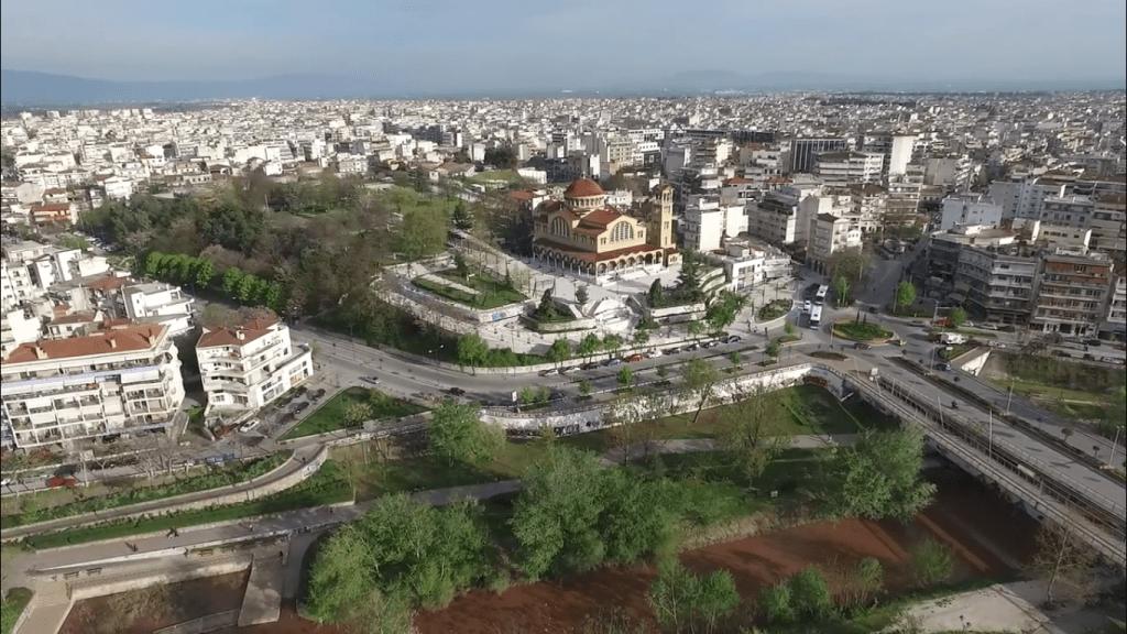 larisa 1 1024x576 - Πως είναι η πόλη μας από ψηλά;(Vid)