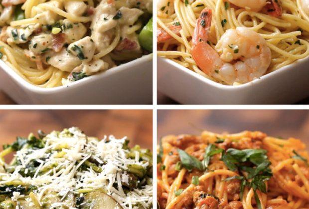 spagheti makaronia 620x420 - 4 πανεύκολες και απολαυστικές μακαρονάδες!