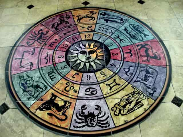 zodiac floor mural min - Τι λένε τα Ζώδια σήμερα, 10/9