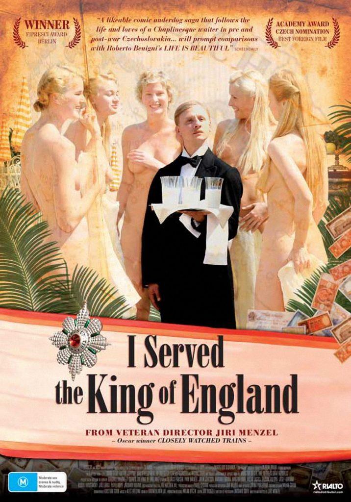 "986full i served the king of england poster 716x1024 - Η ταινία ""Υπηρέτησα το Βασιλιά της Αγγλίας"" στο Χατζηγιάννειο"