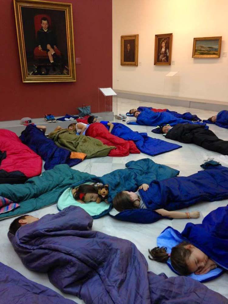 Sleepover larissa 1 - Sleepover για ενήλικες και για γονείς με τα παιδιά τους σε Μουσεία