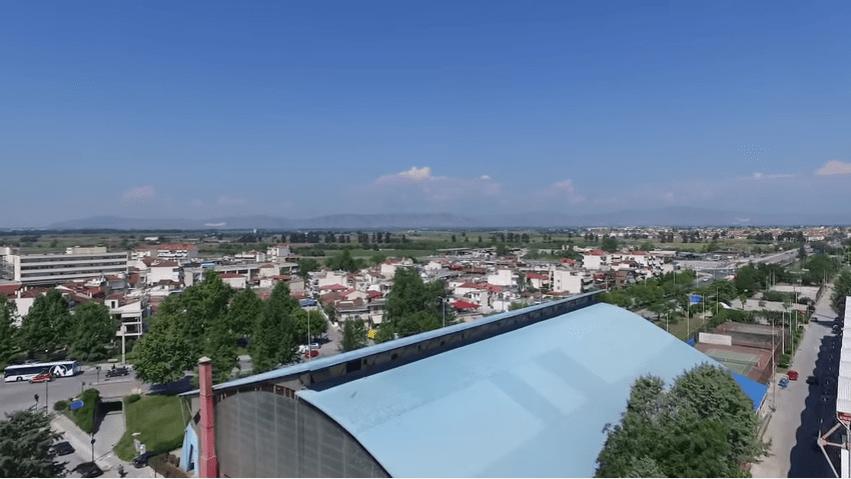 drone larisa - Η Λάρισα από ψηλά