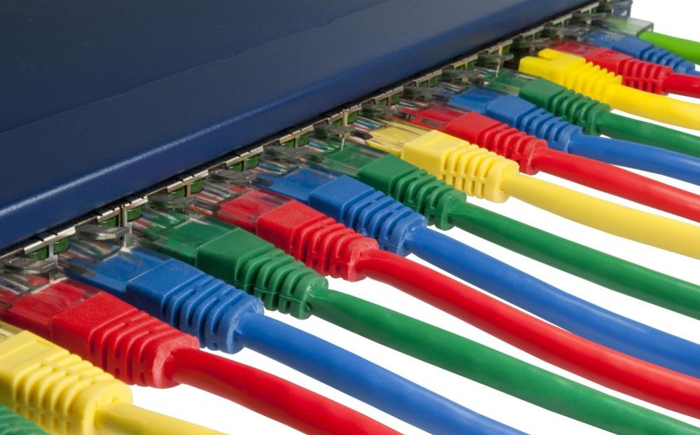 ethernet-cables-plugged-into-an-internet-switch