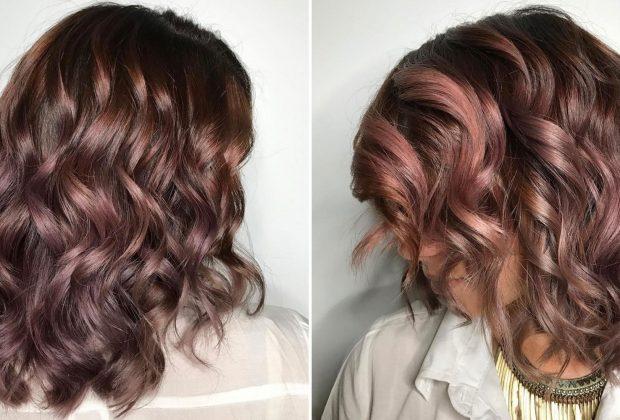 mauve choc hair 1476382858 620x420 - Σοκολατένιο μωβ | Το νέο χρώμα στα μαλλιά που οι γυναίκες θα λατρέψουν το φθινόπωρο!