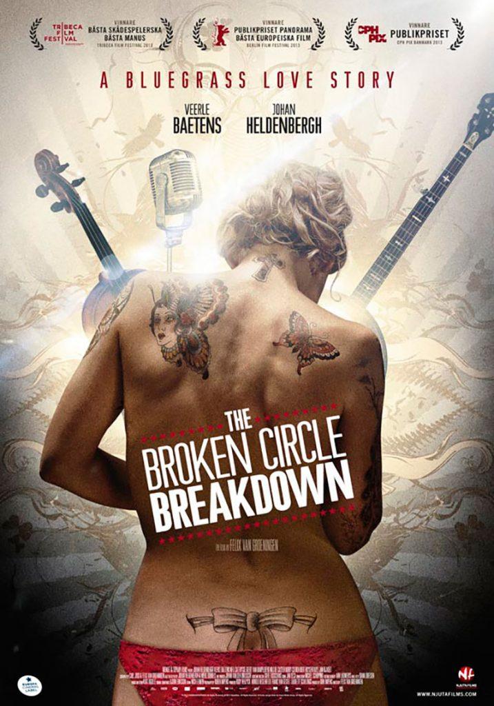 "the broken circle breakdown poster 717x1024 - Η ταινία ""Ραγισμένα όνειρα"" προβάλλεται στο Χατζηγιάννειο"