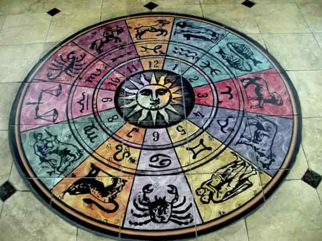 zodiac floor mural min - Τι λένε τα Ζώδια σήμερα,12/10