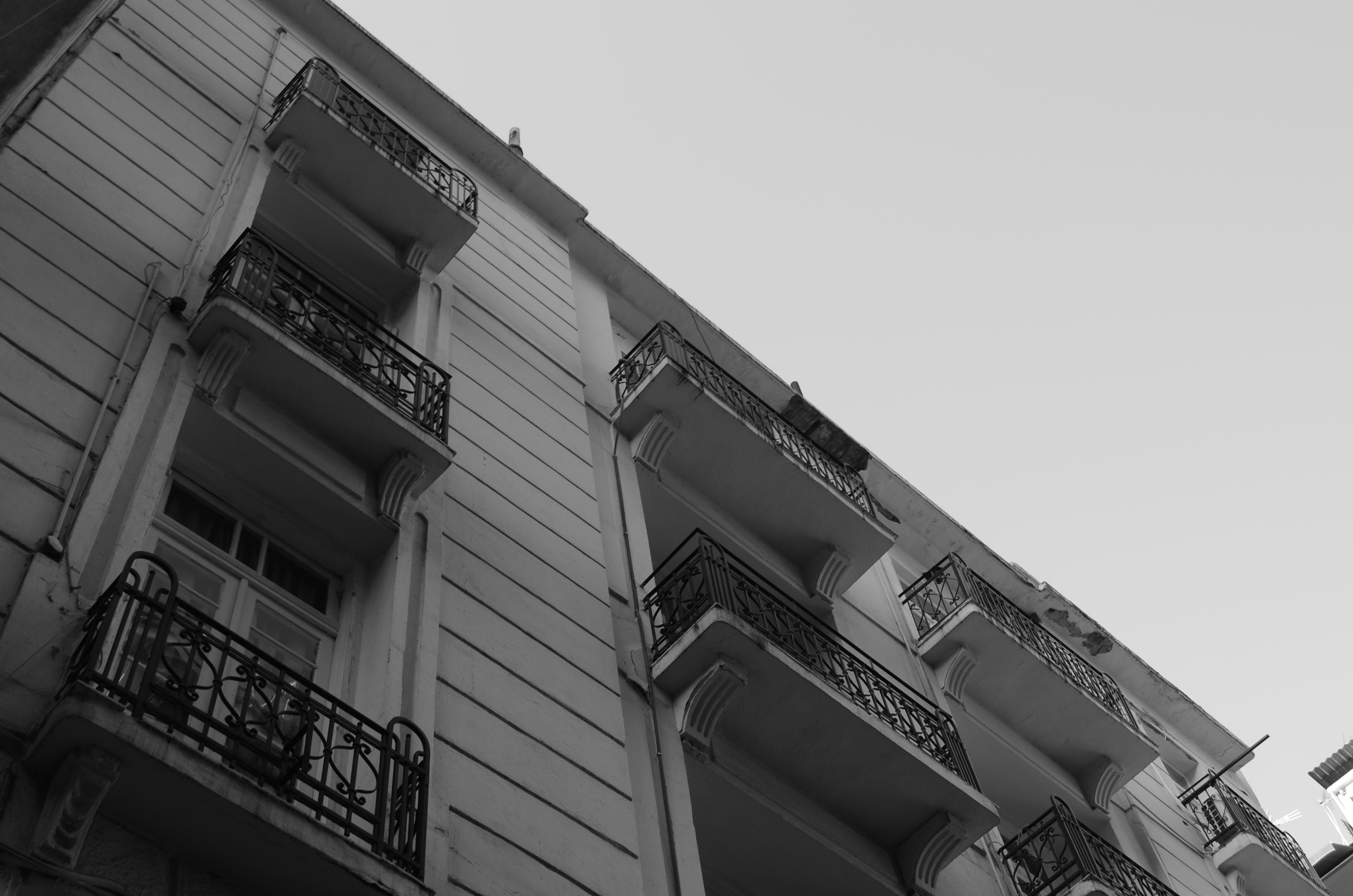 Πολυκατοικία στη Λασσάνη.