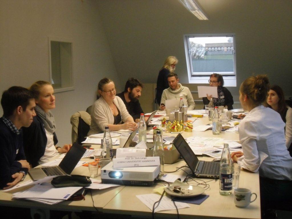 OutsideIn Work session 1024x768 - Διεθνής πενθήμερη συνάντηση για την ένταξη των προσφύγων στην εκπαίδευση στο Μύλο του Παππά