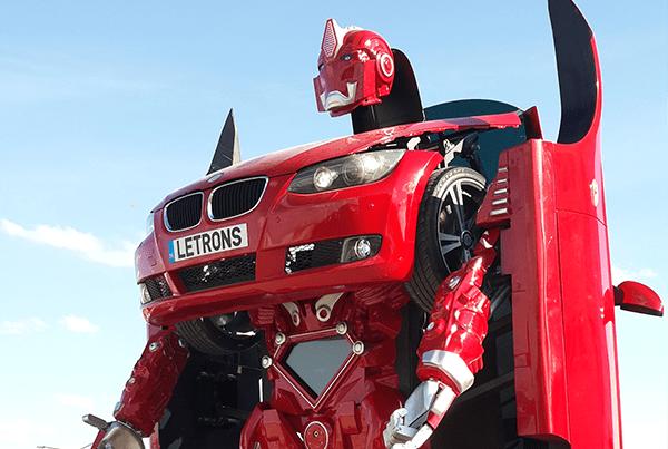 letrons - Letrons: Tα αυτοκίνητα ρομπότ