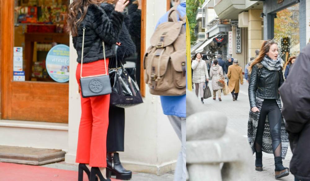 BeFunky Collagvmhbvde - Λάρισα's Street Style | Τα κορίτσια της πόλης σε street style clicks!