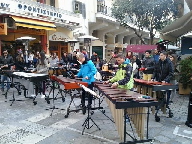 Mousiko sxoleio krousta - Γιορτή μετά μουσικής...