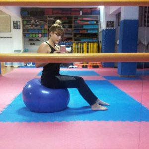 lyd4 300x300 - Η Λυδία Ρούστα μας μαθαίνει Taekwondo