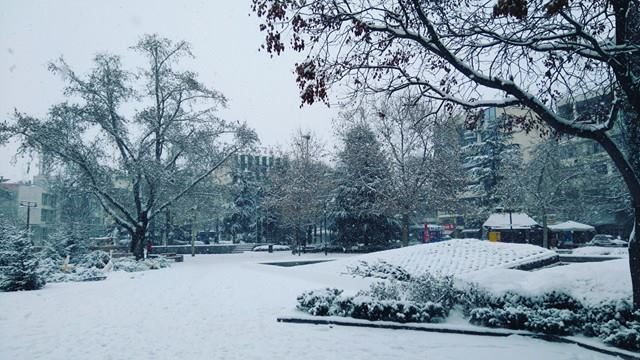 15942145 1342163625869308 1071107620 n - ΕΚΤΑΚΤΗ ΕΠΙΚΑΙΡΟΤΗΤΑ- Tο έστρωσε ξανά στη  Λάρισα – Η χιονόπτωση συνεχίζεται