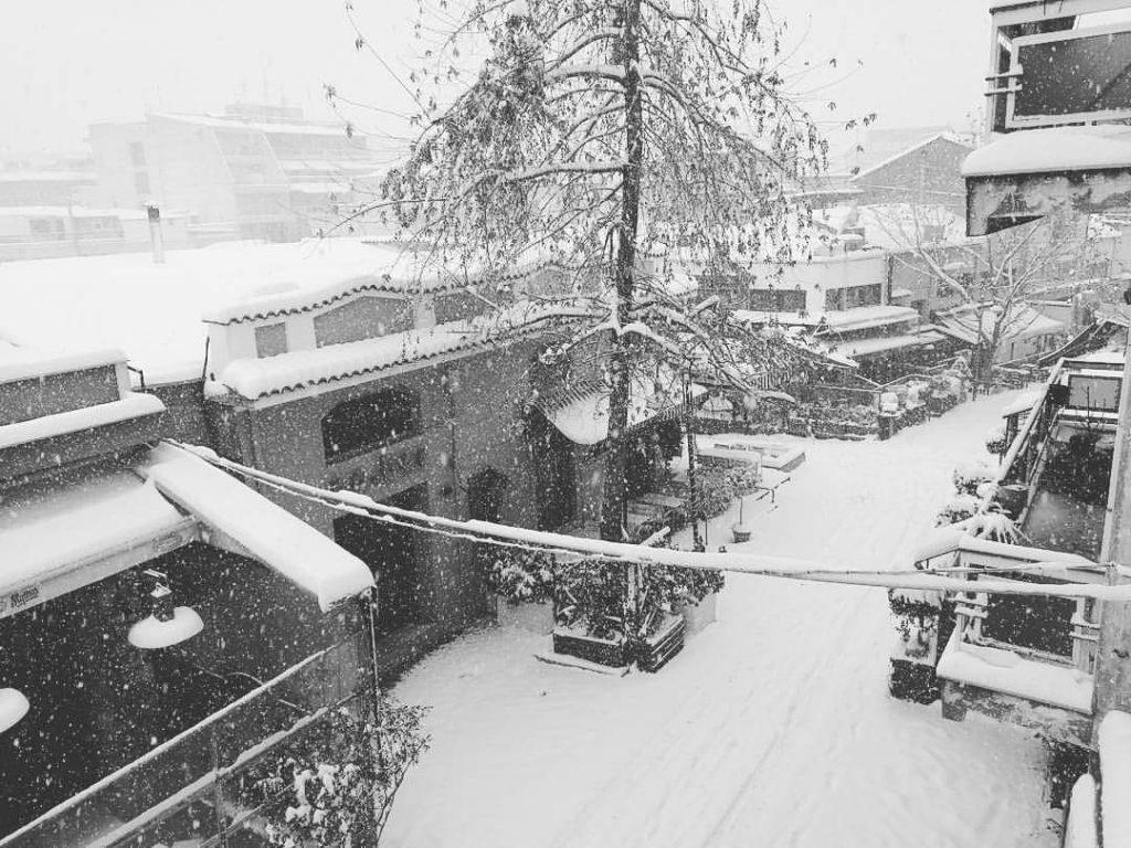 FB IMG 1484122260101 1024x768 - LIVE NOW: Χιονίζει στη Λάρισα | Φρούριο