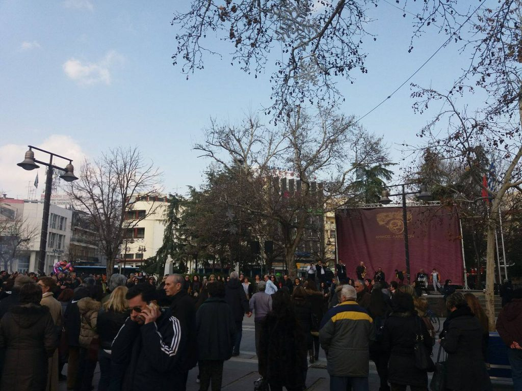 16763608 10210399326713812 1258390100 o 1024x768 - Τσικνοπέμπτη στη Λάρισα: Ξεφάντωσαν οι Λαρισαίοι στην Κεντρική Πλατεία! (φώτο)