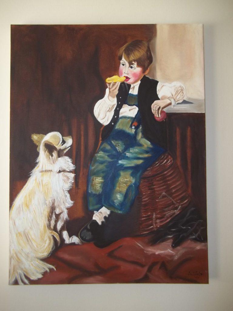 thumbnail 100 1287 768x1024 - Έκθεση ζωγραφικής της Βασιλικής Μάγγα-Χαδουλού στο Μύλο του Παππά