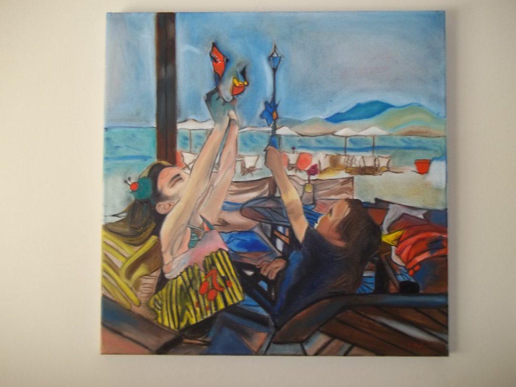 thumbnail 100 1290 1024x768 - Έκθεση ζωγραφικής της Βασιλικής Μάγγα-Χαδουλού στο Μύλο του Παππά