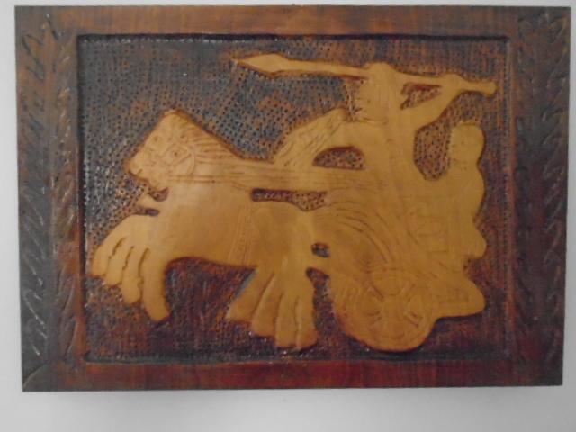 DSC08265 - Ο Κωνσταντίνος Γκιόλβας δώρισε έργα του στο Λαογραφικό Μουσείο