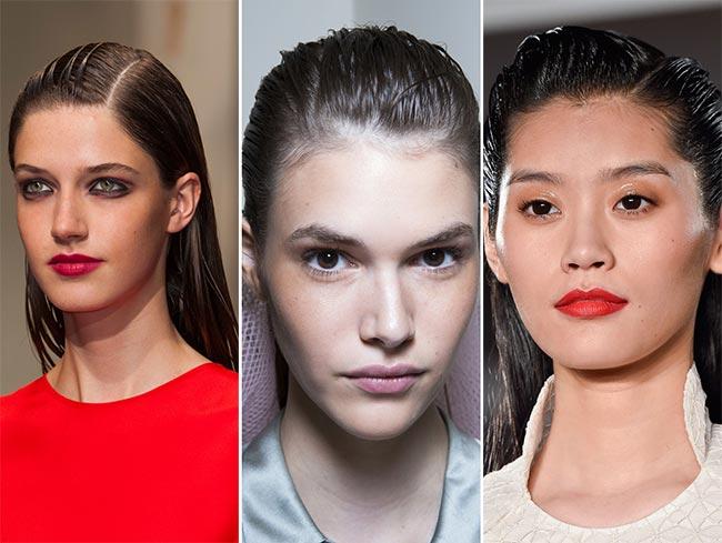 1178 spring summer hairstyle trends wet look hair - Οι 7 πιο hot τάσεις στα μαλλιά για το φετινό καλοκαίρι