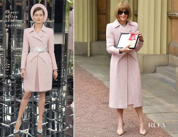 Dame Anna Wintour In Chanel Couture Investitures Ceremony - Η βράβευση της «Σιδηράς Κυρίας» της Vogue, Anna Wintour