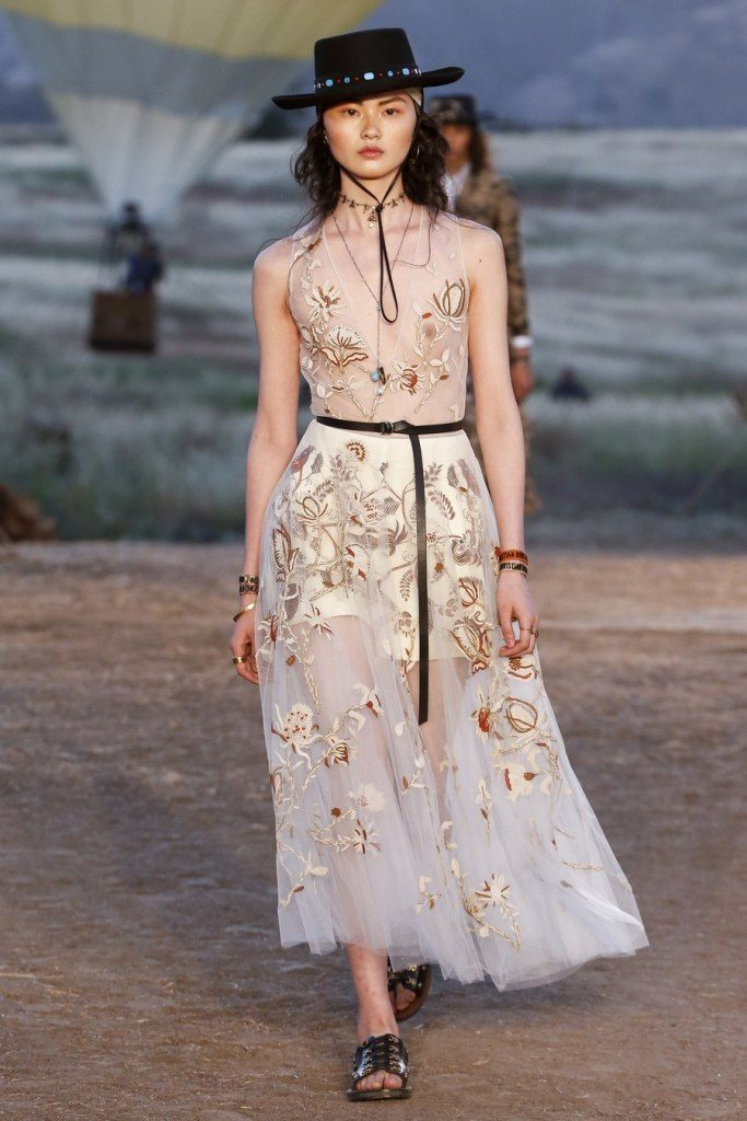 IMG 6965 683x1024 - Christian Dior cruise 2018: Όταν τα cowgirls κάνουν πασαρέλα