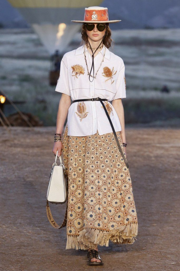 IMG 6972 683x1024 - Christian Dior cruise 2018: Όταν τα cowgirls κάνουν πασαρέλα