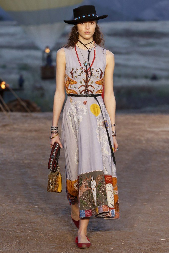 IMG 6989 683x1024 - Christian Dior cruise 2018: Όταν τα cowgirls κάνουν πασαρέλα
