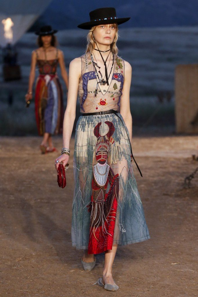 IMG 7037 683x1024 - Christian Dior cruise 2018: Όταν τα cowgirls κάνουν πασαρέλα