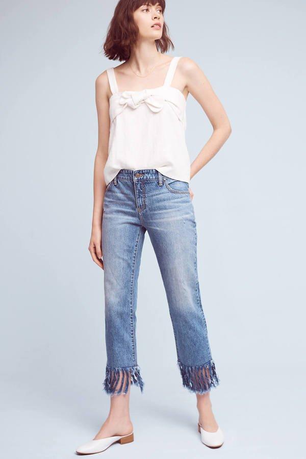 Luckily fringe works boyfriend jeans too - Οι 4 πιο must επιλογές σε jeans,που θα λατρέψεις αυτή τη σεζόν