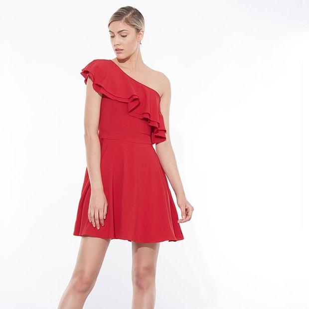 SB1533.8181 271F - Το one shoulder φόρεμα που θα λατρέψεις!