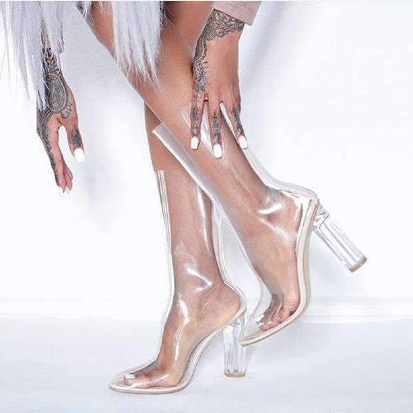 ella 1 grande - Clear Shoes:  το νέο trend που έχουν λατρέψει όλα τα fashion girls