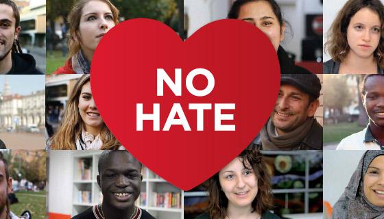 no hate - Ανοιχτή εκδήλωση της Youthnet Hellas στο Μύλο του Παππά