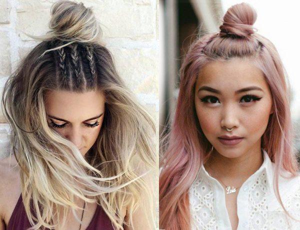 topknots front 600x460 - Οι 7 πιο hot τάσεις στα μαλλιά για το φετινό καλοκαίρι