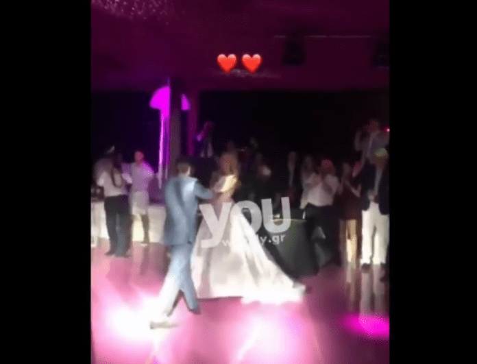 τίτλο 63 - Γάμος Νομικου – Θεοδωρίδη: Ο τρυφερός χορός του ζευγαριού! Ποιο τραγούδι επέλεξαν να χορέψουν; (Βίντεο)