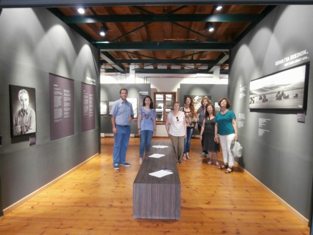 P6072672 1024x768 - Το εργαστήρι ιστορίας και πολιτισμού στην Έκθεση Τάκη Τλούπα