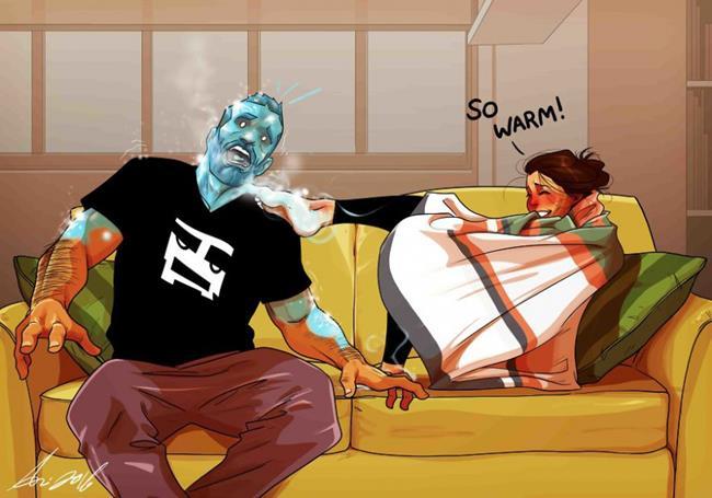 comic1 Copy - Τα υπέροχα σκίτσα ενός κομίστα που περιγράφουν τη ζωή με τη γυναίκα του
