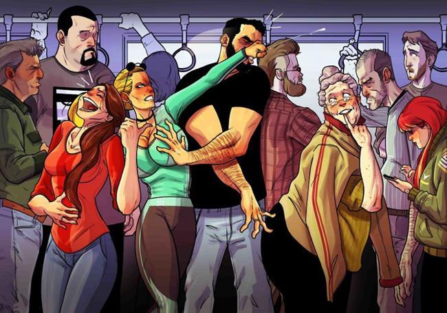 comic6 Copy - Τα υπέροχα σκίτσα ενός κομίστα που περιγράφουν τη ζωή με τη γυναίκα του