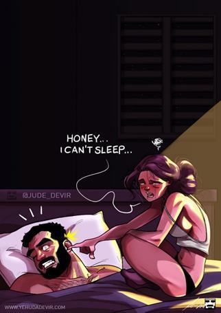 comic8 Copy - Τα υπέροχα σκίτσα ενός κομίστα που περιγράφουν τη ζωή με τη γυναίκα του
