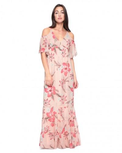 floral forema juicy 401x500 1 - Βρήκαμε τα πιο ωραία φορέματα για να πάτε σε καλοκαιρινούς γάμους και βαφτίσεις στα νησιά