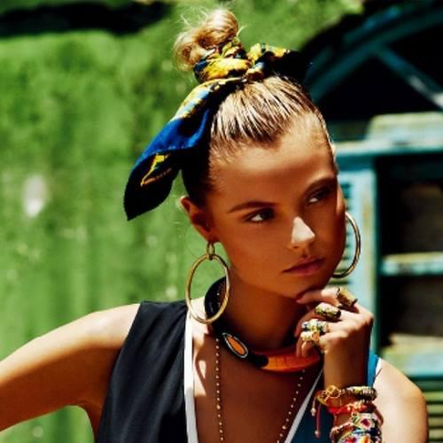 kommotiria hairstyle.gr mantilia 6 - Μαντήλια: Το must have αξεσουάρ του Καλοκαιριού
