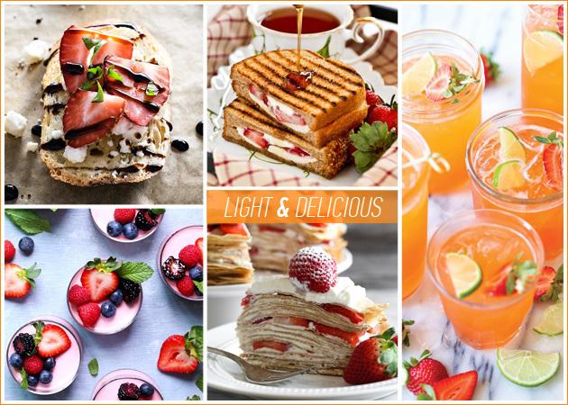 light1 645 450 - Light συνταγές με φράουλες: Γλυκά και αλμυρά πιάτα που θα κάνουν πιο απολαυστική τη δίαιτά σου