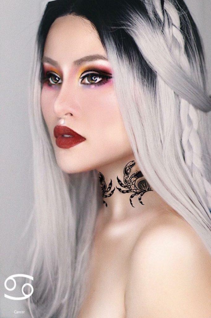 look12 682x1024 - Η makeup artist που δημιουργεί makeup looks με βάση τα 12 ζώδια