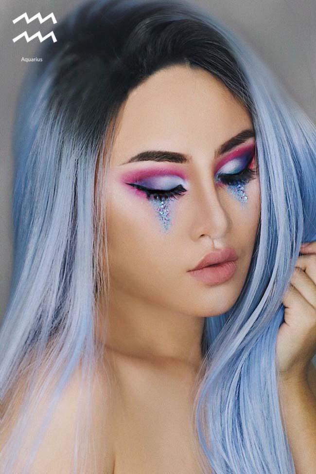 look2 - Η makeup artist που δημιουργεί makeup looks με βάση τα 12 ζώδια