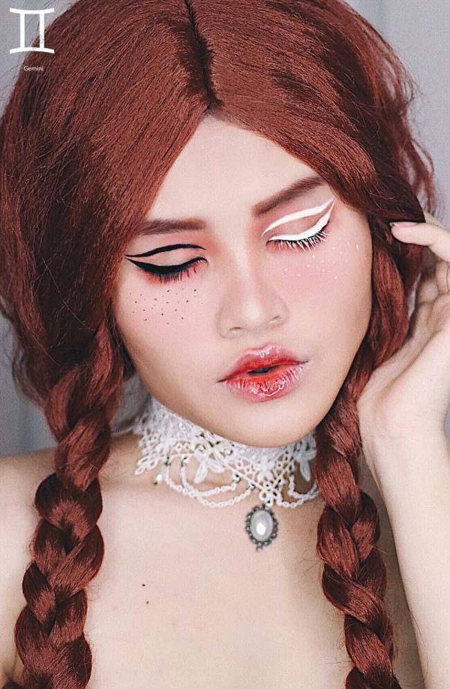 look4 - Η makeup artist που δημιουργεί makeup looks με βάση τα 12 ζώδια