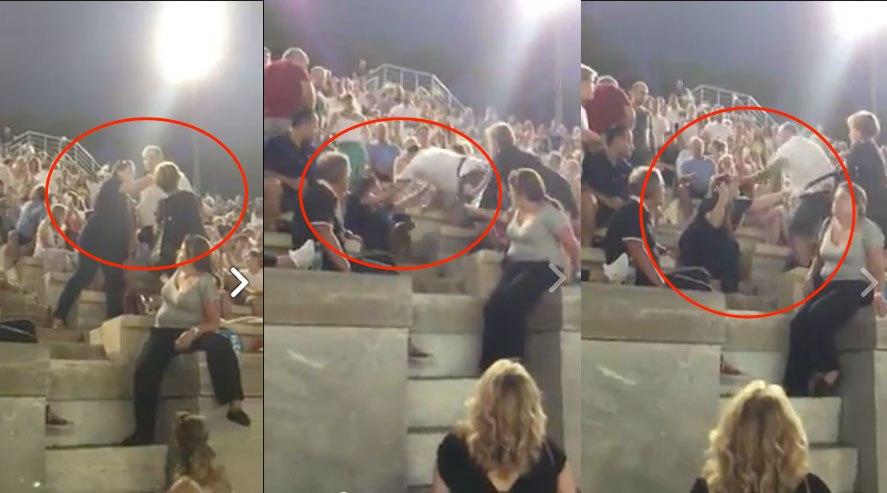 .jpg - Άντρας δίνει μπουνιά και ρίχνει κάτω την γυναίκα του στη συναυλία του Σαββόπουλου στο Καλλιμάρμαρο